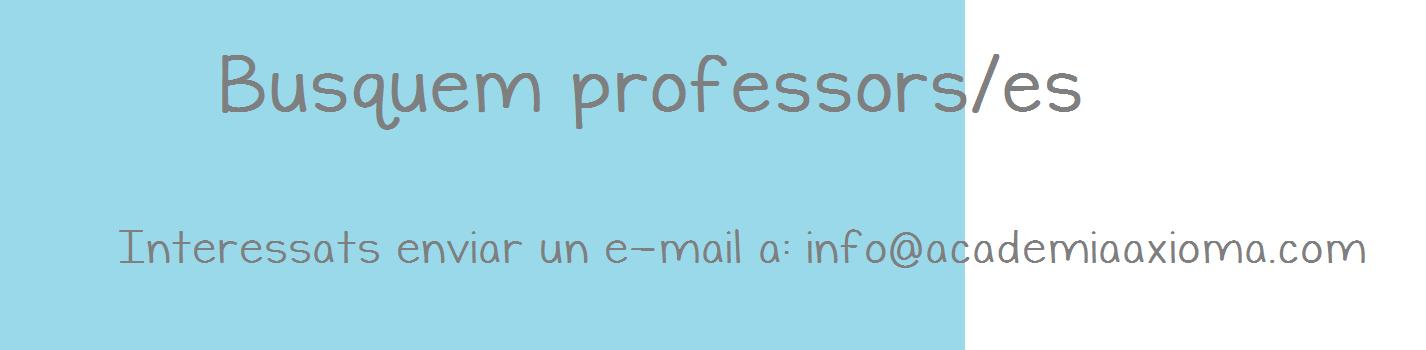 busquem professors
